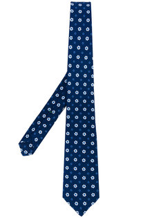 галстук с цветочным узором Borrelli
