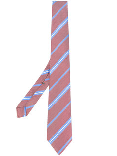 striped pattern tie Borrelli