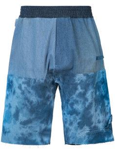 elasticated waistband sweatshorts Longjourney