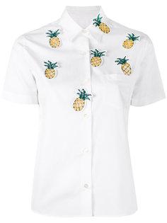 рубашка с заплатками в виде ананасов Jimi Roos