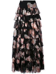 длинная юбка с цветочным принтом Redemption