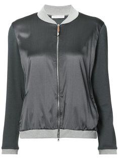 куртка-бомбер с контрастной окантовкой Fabiana Filippi