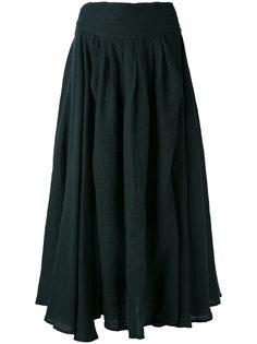 юбка Wrap Black Crane