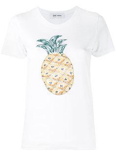 футболка с вышивкой ананаса Jimi Roos
