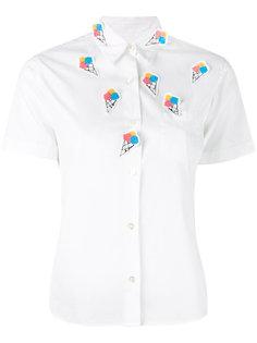 рубашка с нашивками в виде мороженого Jimi Roos