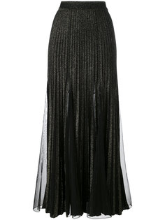 metallic pleated skirt Elie Saab