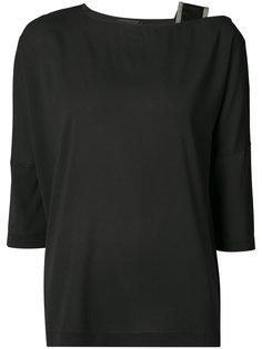 блуза с лямкой на плече Fabiana Filippi