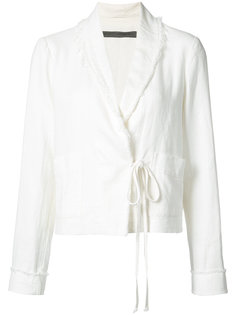 lace-up jacket Raquel Allegra