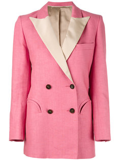 пиджак с контрастными лацканами  Blazé Milano