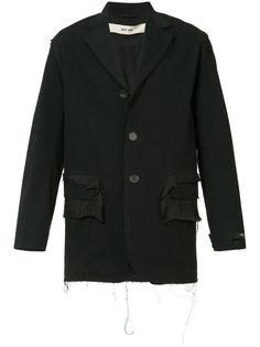 куртка с необработанными краями Silent Damir Doma