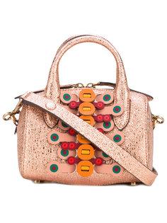 миниатюрная сумка-бочонок Vere Anya Hindmarch