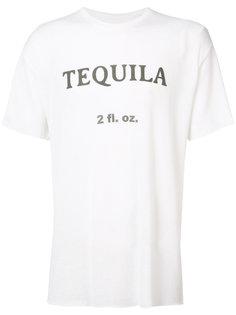 tequila print T-shirt The Elder Statesman