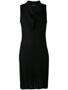 платье с отвисающей горловиной Ann Demeulemeester