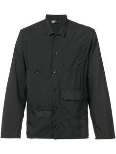multi-pockets shirt Longjourney