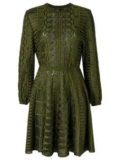 knit flared dress Gig
