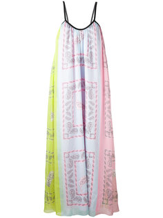платье с орнаментом Natasha Zinko