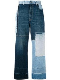 джинсы с контрастными панелями Golden Goose Deluxe Brand