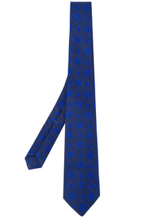 square pattern tie Borrelli