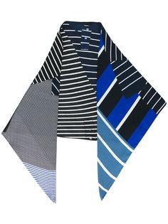 шарф с полосатым узором Pierre-Louis Mascia
