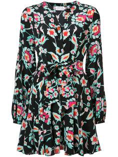 платье с цветочным узором Tanya Taylor