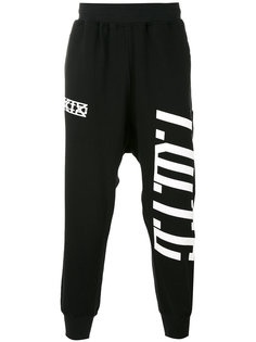 спортивные брюки с принтом KTZ