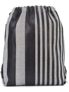 рюкзак в полоску с завязкой на шнурке Proenza Schouler
