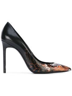 туфли с принтом тигра Saint Laurent