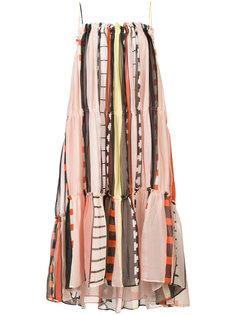 платье в полоску Apiece Apart