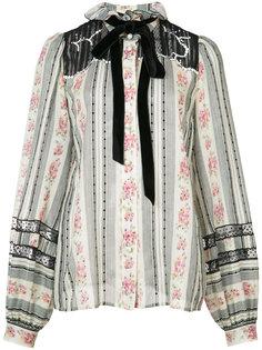 блуза с бантом в викторианском стиле Marc Jacobs