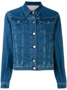 джинсовая куртка Maison Kitsuné