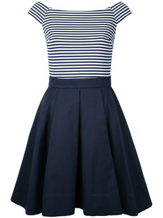 striped boat neck dress Guild Prime