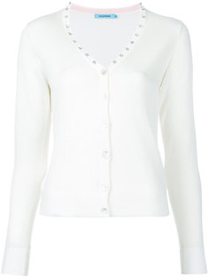 diamanté studded V-neck cardigan Guild Prime