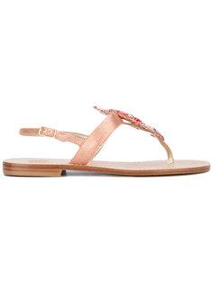 декорированные сандалии Lisa C Bijoux
