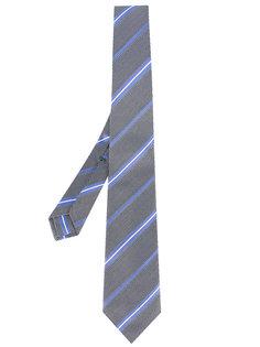 галстук с полосатым узором Borrelli