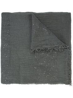 шарф с пайетками Fabiana Filippi