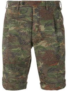 camouflage print shorts Gabriele Pasini