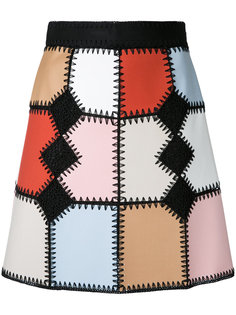 crochet patchwork skirt Loveless