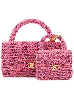 твидовая сумка 2-в-1  Chanel Vintage