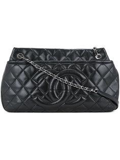 стеганая сумка на плечо Jumbo Chanel Vintage