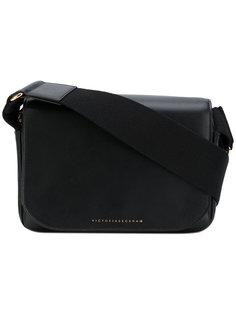 сумка-сэтчел с фирменной бляшкой Victoria Beckham