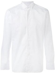 рубашка с потайной застежкой Z Zegna