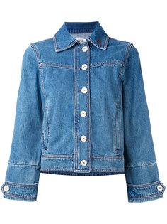 джинсовая куртка  Ganni