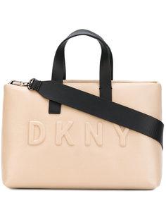 большая сумка-шоппер с логотипом Donna Karan