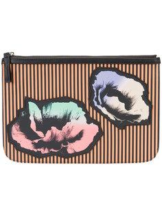 floral print clutch  Pierre Hardy