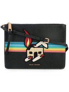 сумка на плечо с нашивками Marc Jacobs
