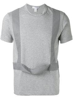 футболка с контрастной отделкой Comme Des Garçons Shirt