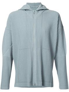 pleated zip hoodie Homme Plissé Issey Miyake