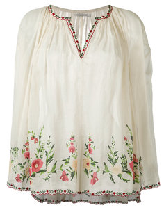 embroidered smock blouse Mes Demoiselles