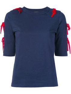 knot detail T-shirt  Jour/Né