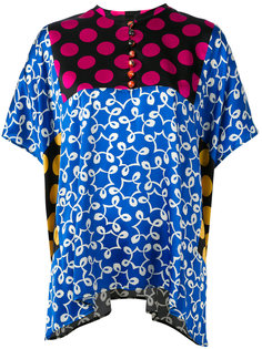 patchwork blouse Duro Olowu